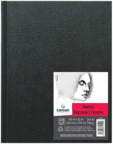 "Pro Art Hard Bound Sketch Book 8.5/""X11/""-110 Sheets"