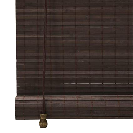 Color : A, Size : 50X120cm CHAXIA Roller Blind Bamboo Shade Outdoor Moisture Proof Mildew Proof Balcony Cut Off Tea Room Gazebo Lifts Curtain Multi-Size 3 Colors Customizable