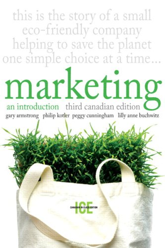 Marketing: An Introduction, Third Canadian Edition, In-Class Edition with MyMarketingLab (3rd Edition)