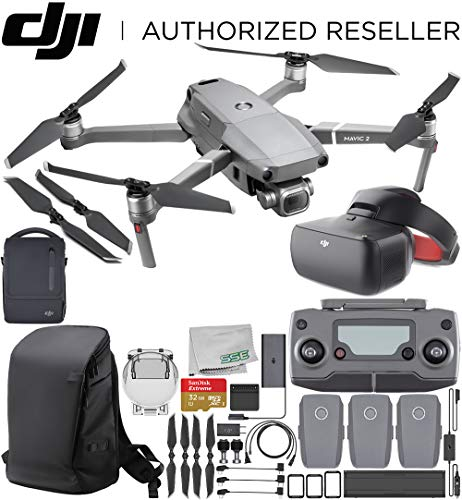 "DJI Mavic 2 Pro Drone Quadcopter Hasselblad Camera 1"" CMOS Sensor DJI Goggles Racing Edition & DJI Carry More Backpack Fly More Kit Review"