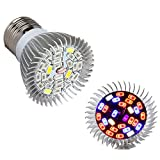 Morsen Grow Light 28W, Full Bands LED Grow Light Bulbs E27 for Greenhouse, Indoor Plants and Hydroponic Garden, Full Spectrum Indoor Garden Growing Lamps with Wide Coverage For Sale
