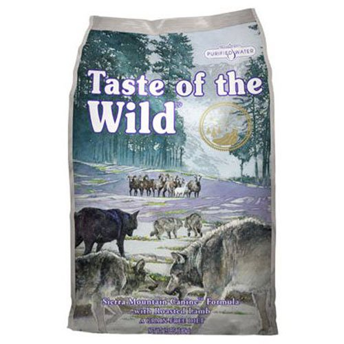 Taste of the Wild, Sierra Mountain Canine Formula with Roasted Lamb (N-feed Store Dog Pets)