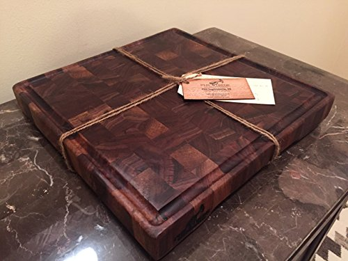 Handmade Walnut End Grain Butcher Block