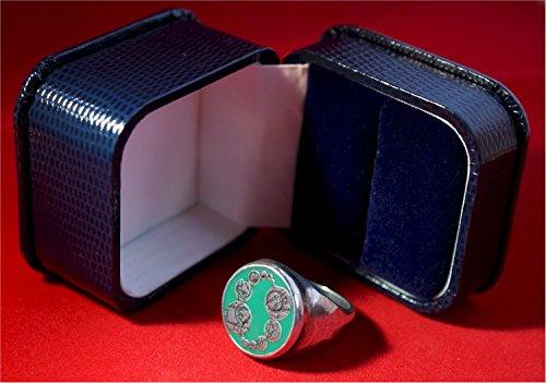 Doctor Who The Master's Pewter Signet Ring - UK Size - Uk Signet