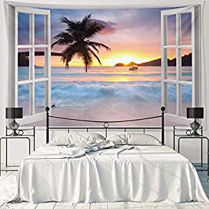 51UY14pEl%2BL._SS300_ Beach Tapestries & Coastal Tapestries