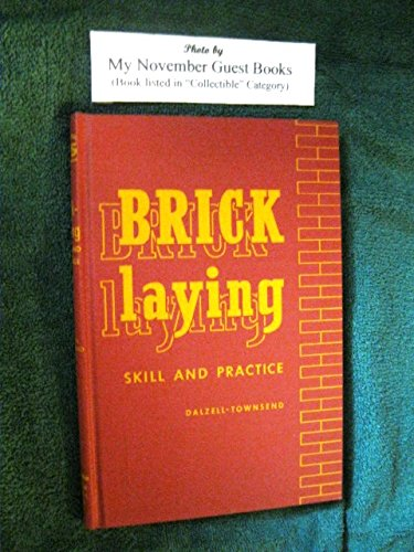 Bricklaying : Skill and Practice
