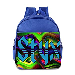 Styx Band Logo Children School Bags RoyalBlue