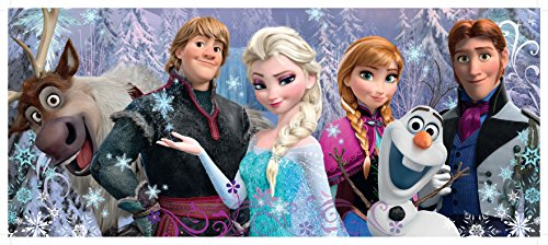 Frozen Friends Panorama 100 Piece Jigsaw Puzzle for Kids – Every Piece is Unique, Pieces Fit Together Perfectly ()