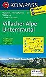 Villacher Alpe - Unterdrautal: Wanderkarte mit Aktiv Guide, Radrouten, alpinen Skirouten und Panorama. GPS-genau. 1:50000 (KOMPASS-Wanderkarten, Band 64)