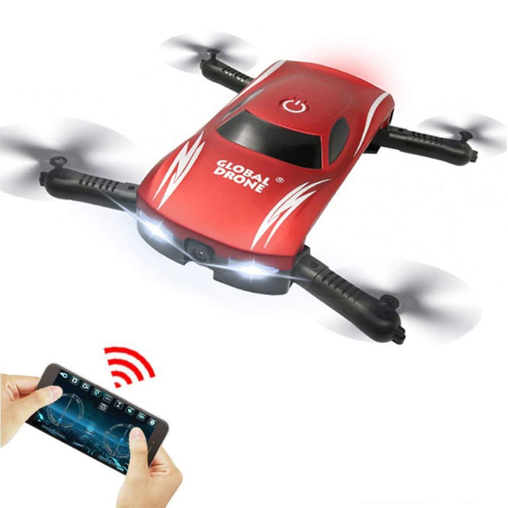 HUIGE Drohne mit Kamera, Kamera, Kamera, WiFi FPV-Quadcopter mit 2MP 720P Wide Angle Camera Live Video Mobile APP Control Falable Altitude Hold Mode 2831d4