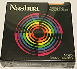 Nashua Professional Magnetic Media MD2D 5 1/4\