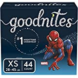 Goodnites Bedwetting Underwear for Boys, X-Small (28-45 lb.), 44 Ct (Packaging May Vary): more info