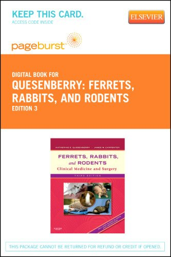 Ferrets, Rabbits, and Rodents - Elsevier eBook on VitalSource (Retail Access Card): Clinical Medicine and Surgery, 3e (P