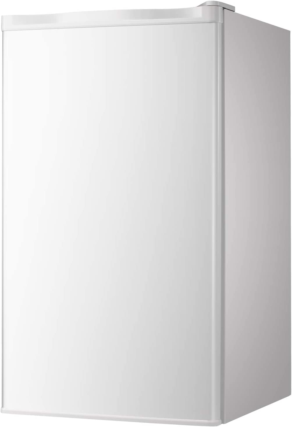 Bossin Compact Refrigerator 3.2 cu ft. Unit Small Freezer Cooler Fridge Small Drink Food Storage Machine for Office, Dorm, Apartment, Bedroom(Ivory white)