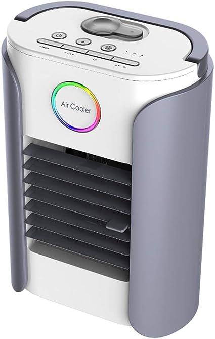 Mini Cooler Aire Acondicionado Portátil con Radio Bluetooth ...