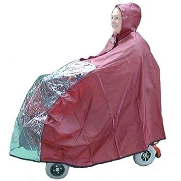 Kozee Komforts impermeable capa de Scooter para personas con movilidad reducida con ver a través de ...