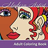 Modern Artist Adult Coloring Book, Lilt Kids Coloring Books, 1500688932