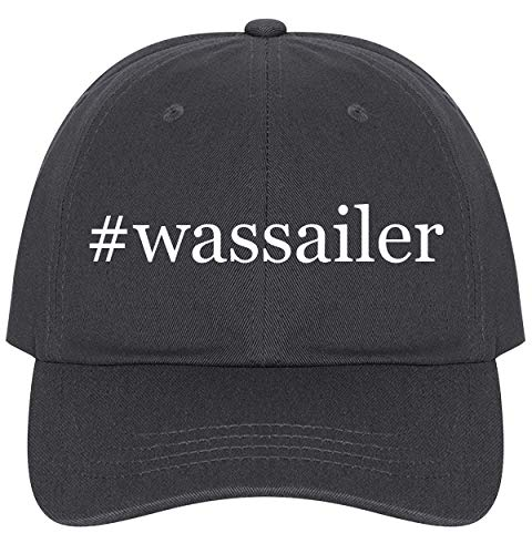 Antique Biltmore Collection - The Town Butler #Wassailer - A Nice Comfortable Adjustable Hashtag Dad Hat Cap, Dark Grey