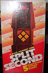Split Second Electronic Handheld Game by Parker Brothers