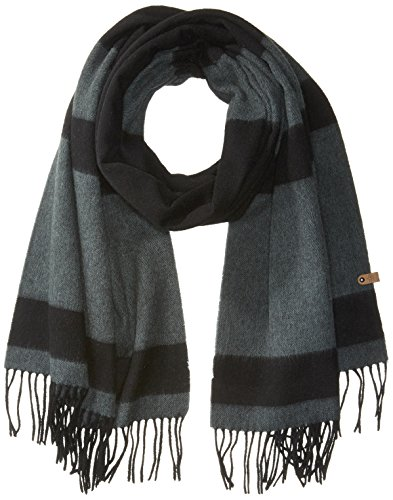 Mackage Women's Lazio Scarf, black/dark sage, One Size by Mackage