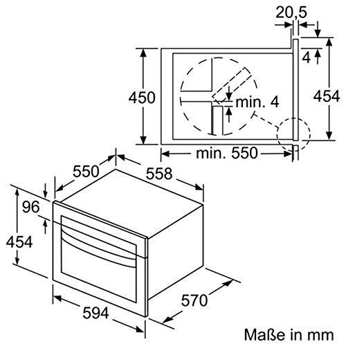 Siemens iQ500 CM585AMS0 Integrado - Microondas (Integrado ...