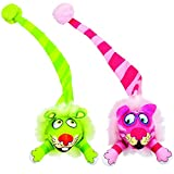 Bamboo Pet CAM650074 Fat Cat Kitty Hoots Tail Chaser Catnip Toy, Multicolor