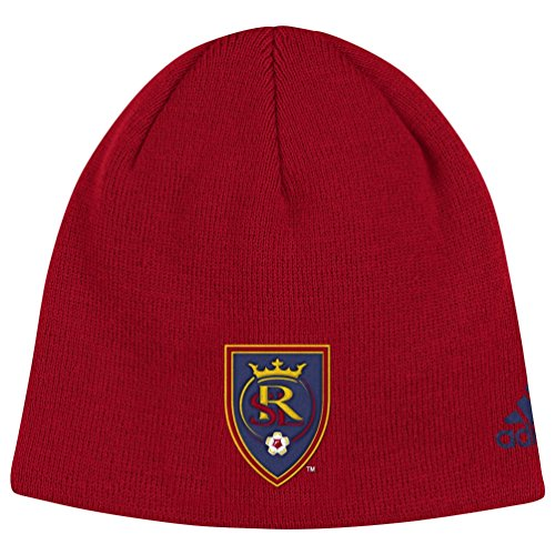 Real Salt Lake Adidas MLS ''Team Basics'' Cuffless Knit Hat by adidas