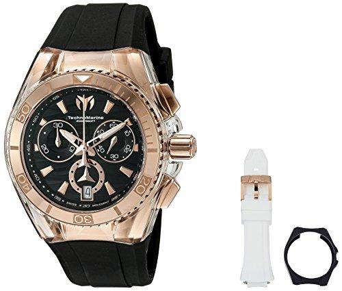 Technomarine 'Cruise Star' Swiss Quartz Stainless Steel Casual Watch (Model: TM-115045) (New Chronograph Stainless Technomarine Steel)
