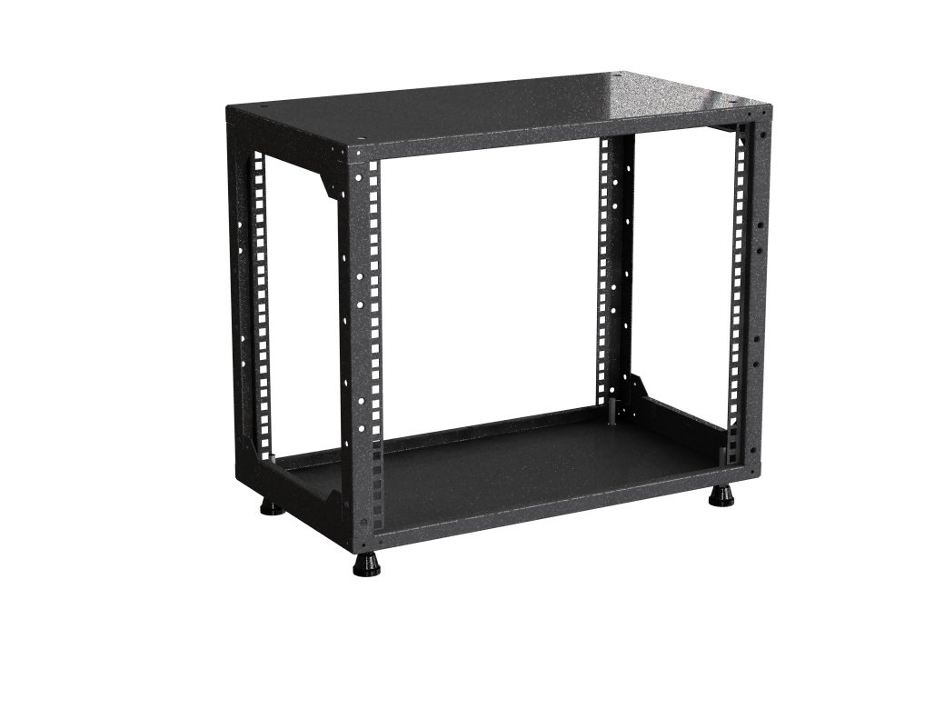 '9HE Mini 482.6 mm (19) Rack/armadio – 280 mm di profondità – Nero – 482.6 mm (19 pollici) armadio – Rack Server Sexton-GmbH