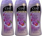 Olay Body Wash, Luscious Orchid, 23.6 Ounce, (Pack of 3)