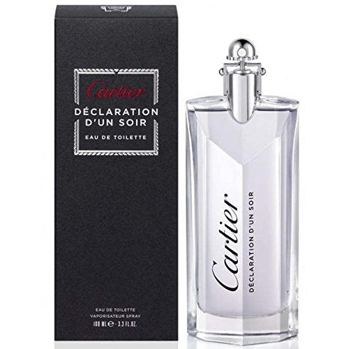 Cartier Declaration D'un Soir Eau de Toilette Spray for Men, 3.3 - Cartier Wholesale