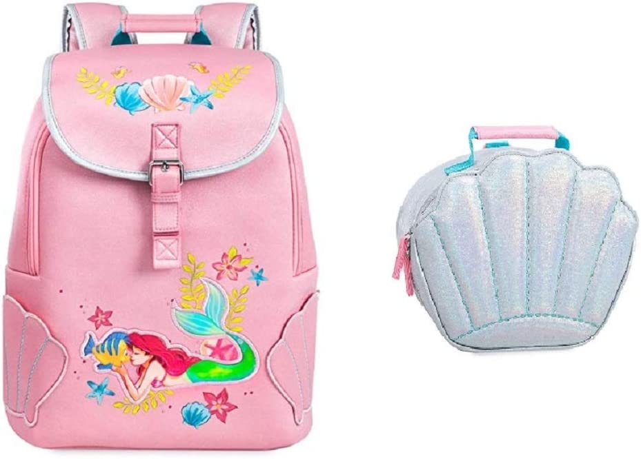 Pink 2018 Disney Ariel Backpack and Lunch tote set