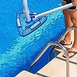 Pool Vacuum Head Bottom Brush, Triangular Weighted