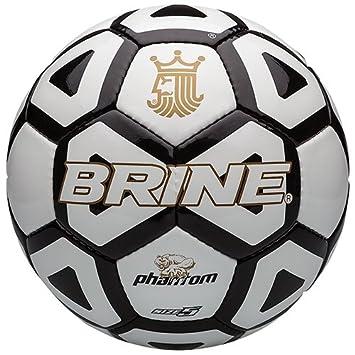Brine Phantom - Balón de fútbol, Color Negro, tamaño 5: Amazon.es ...