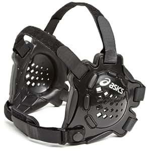 ASICS Conquest Ear Guard, Black/Black, One Size