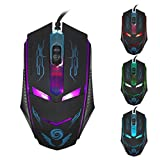Coromose 3200 DPI LED Optical USB Wired Gaming Mouse Mice For PC Laptop