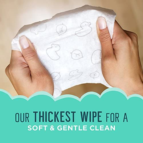 51UY8Q5yEyL. AC - Seventh Generation Baby Wipes, Free & Clear With Flip Top Dispenser, 504 Count