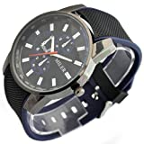 Sinceda Men's Watch Fashion-Leisure-M02-001 Series Black Watches for Boy