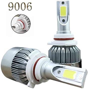2pcs H1 72W 7600LM Power COB Car White LED Fog Light Headlight Lamp Bulbs 6000K