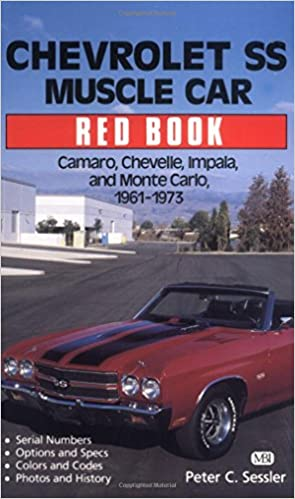 CHEVROLET BOOK PORTFOLIO BROOKLANDS IMPALA MUSCLE SS