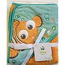 Disney Finding NEMO Baby Hooded Hoodie Bath Towel 26 in x 30 in