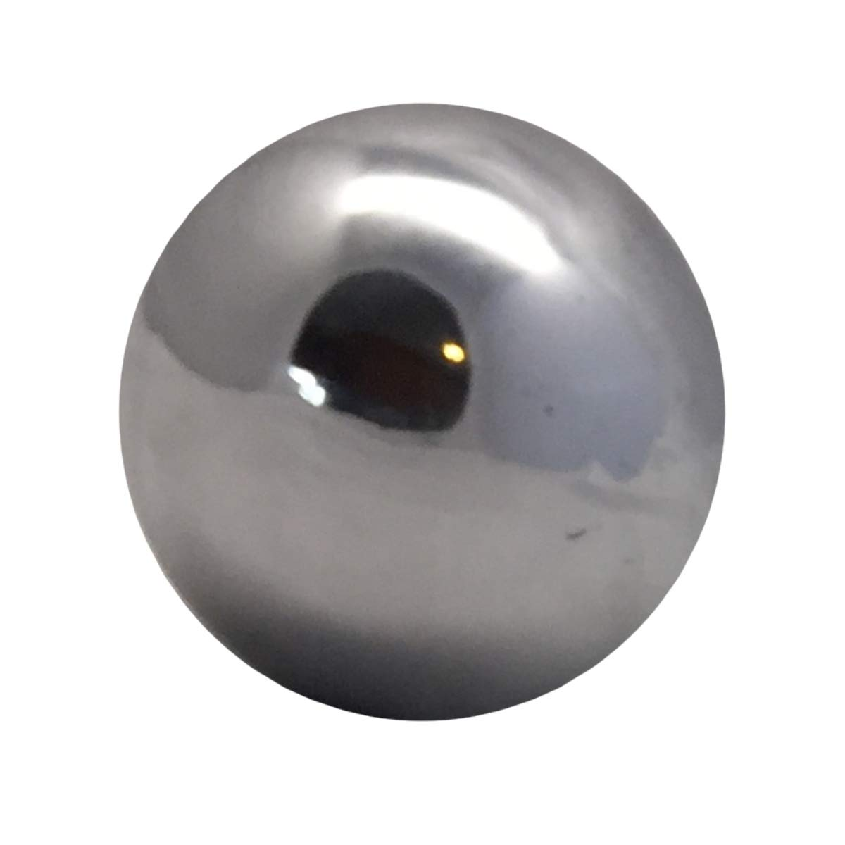London Magic Works Acrylic Balls for Contact Juggling- Perform Like a pro (Steel Chrome, 60mm)