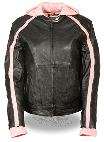 Womens Leather Riding Jackets - 9
