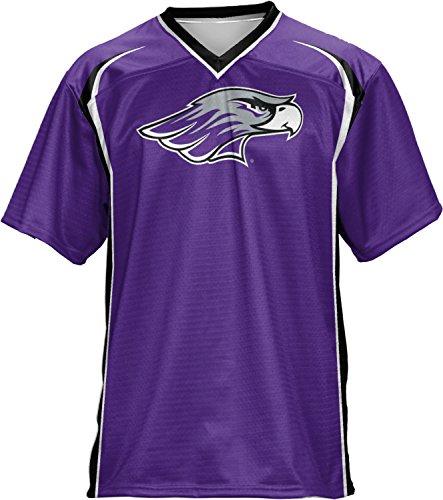 Wisconsin Whitewater Soccer Ball (Men's University of Wisconsin-Whitewater College Wild Horse Football Fan Jersey)