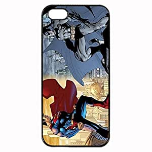 Andre-case Batman and Superman Custom Image case cover iPhone 5c Case cover , iPhone 5c Case cover, Diy Durable case cover for iPhone 5c for kids , High Quality YQNKAAfSwrz Plastic case cover By Argelis-sky, Black case cover New