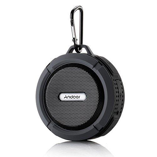 56 opinioni per Andoer® 5W portatile senza fili Bluetooth 3.0 all'aperto altoparlante stereo