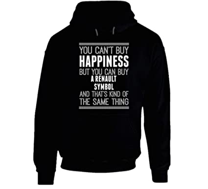 Amazon.com: Buy a Renault Symbol Happiness Car Lover Hooded ...