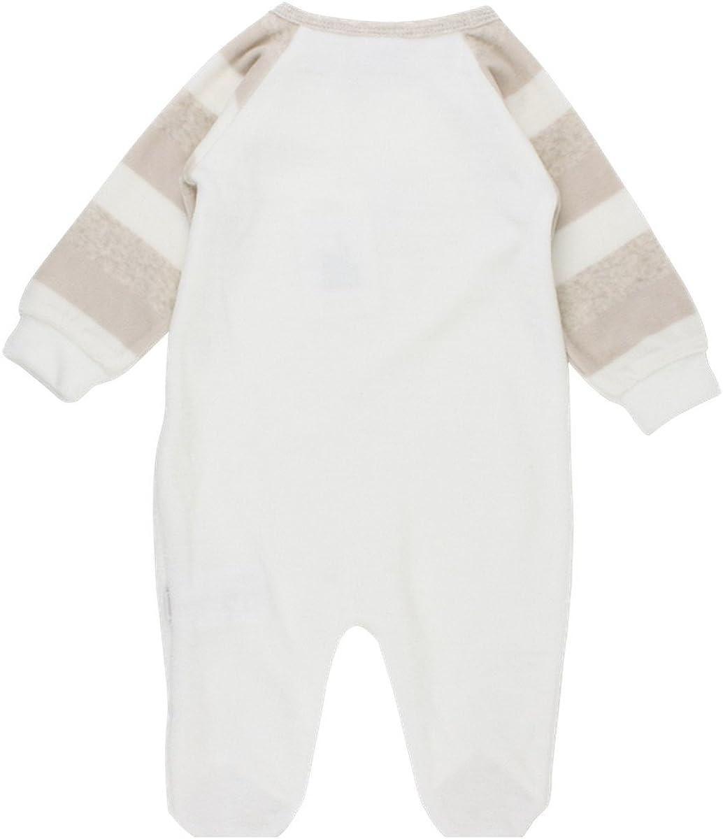 Fixoni Baby Strampler neutral wei/ß//beige