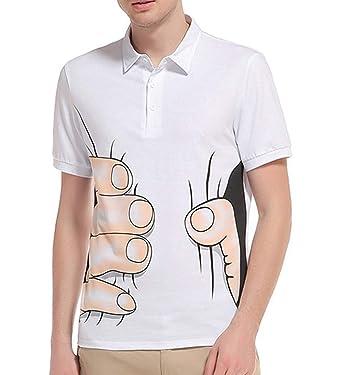 Camisa Polo De Los Hombres Camiseta De Manga Corta Impresa En 3D ...