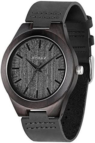 Image result for Bymax Handmade Vintage Analog Quartz Wooden Wrist Watch
